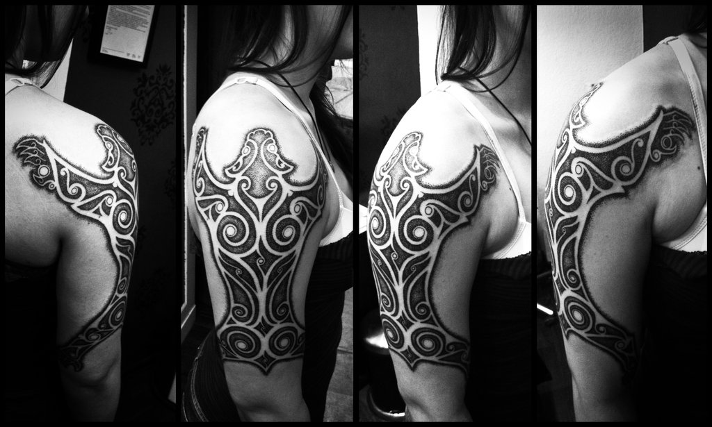 Татуировки с кельтским орнаментом