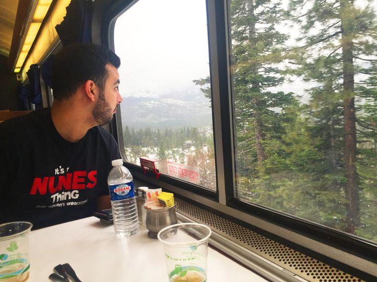Человек в поезде