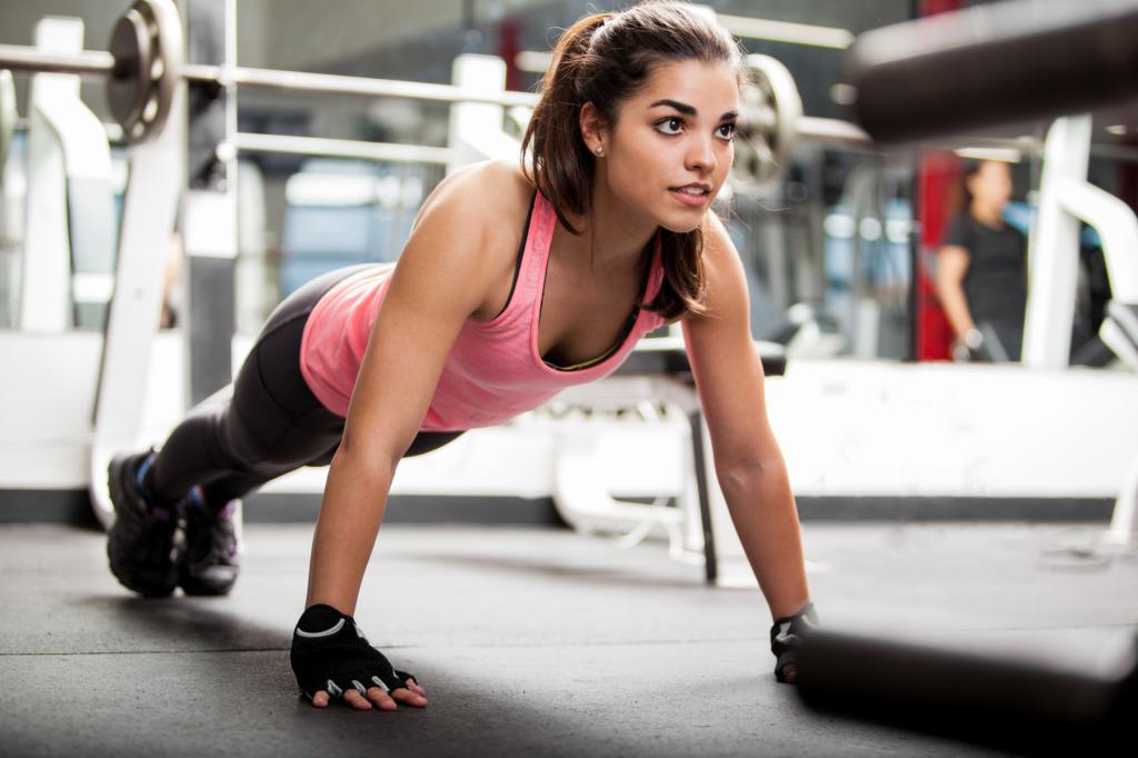 Планка - упражнение для плоского живота