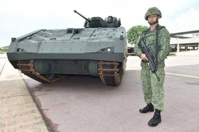 бмп сингапурской армии