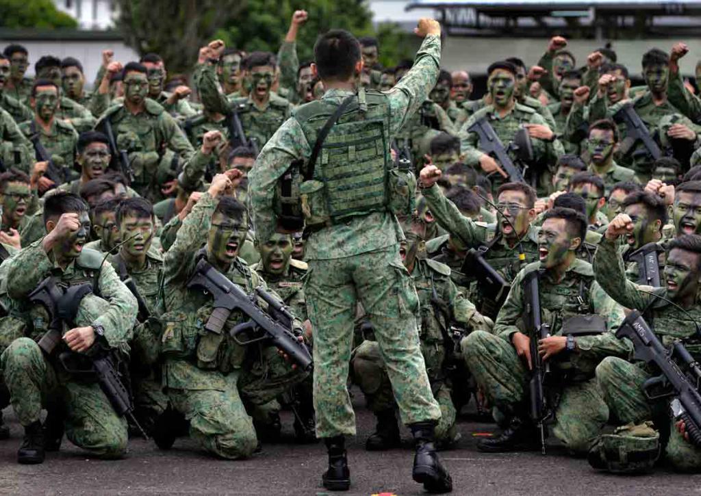 спецназ сингапура