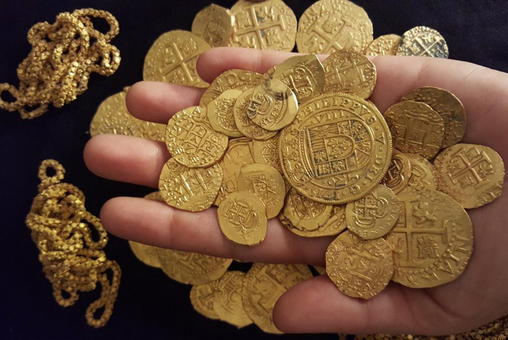 Драгоценные монеты