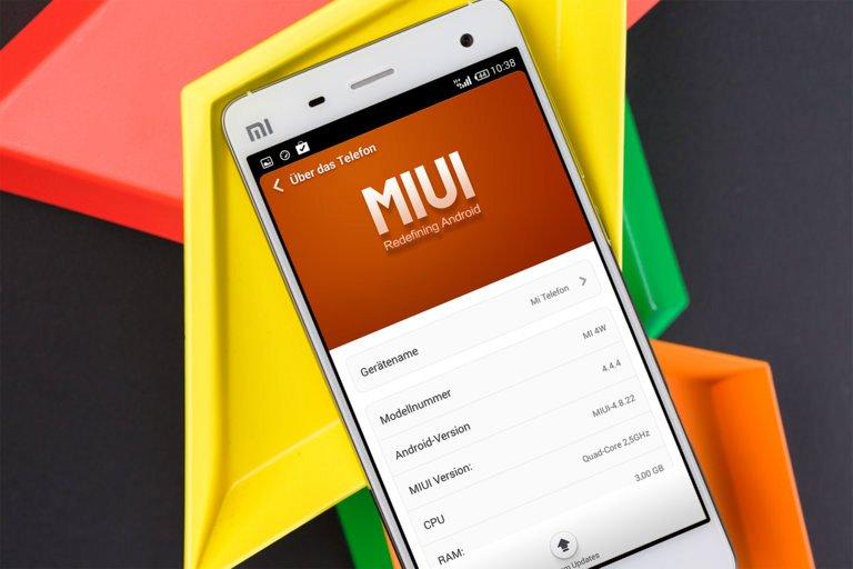 MIUI пользовательский интерфейс