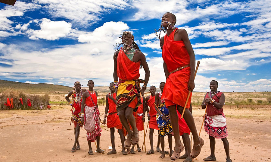 Племя в Танзании