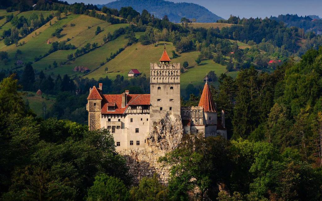 Замок Графа Дракулы