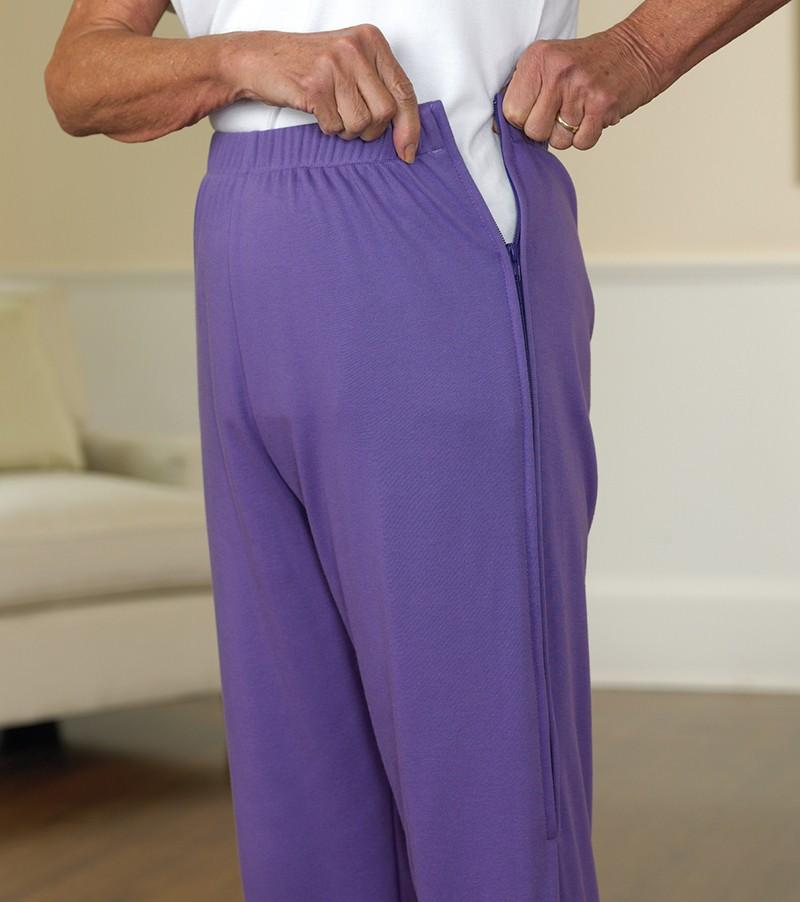 Трикотажные штаны-саомсбросы
