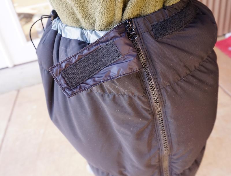 Теплые штаны-самосбросы