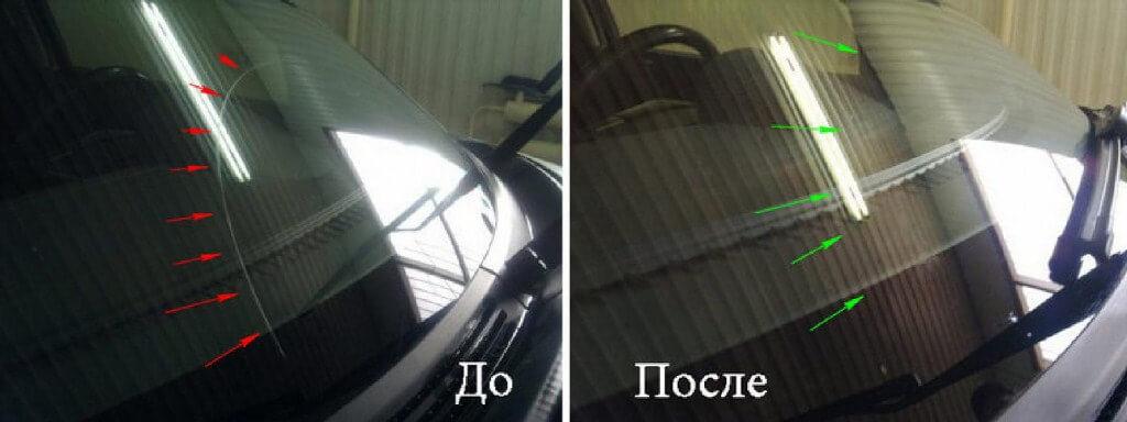 Процедура полировки стекла