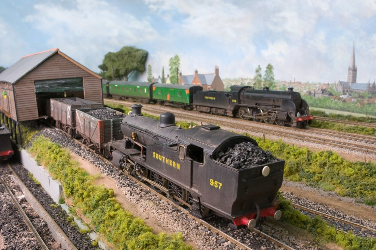 Модели вагонов с углями