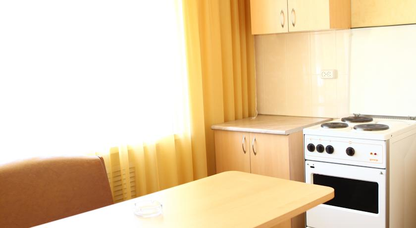 Кухня в отеле.