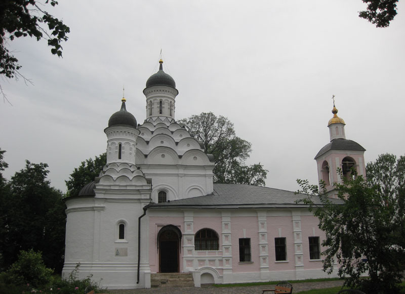 Восстановленный храм