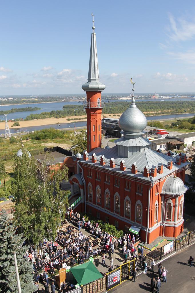 Нижегородская соборная мечеть архитектура