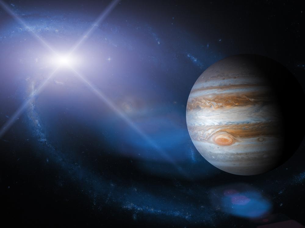 Оппозиция Юпитера и Урана