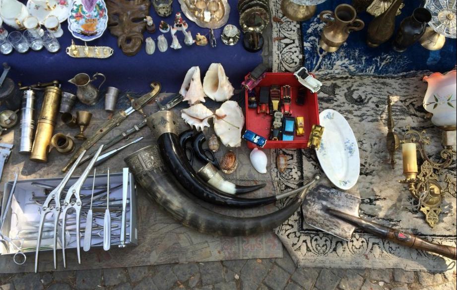 Ракушки и инструменты