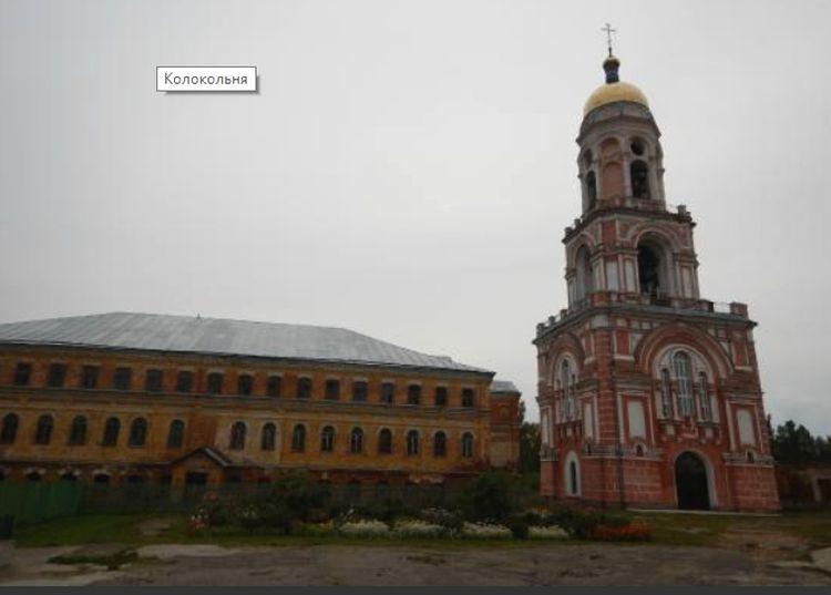 Храм Ефрема Сирина с колокольней