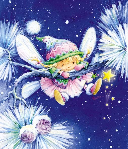 иллюстрация фея