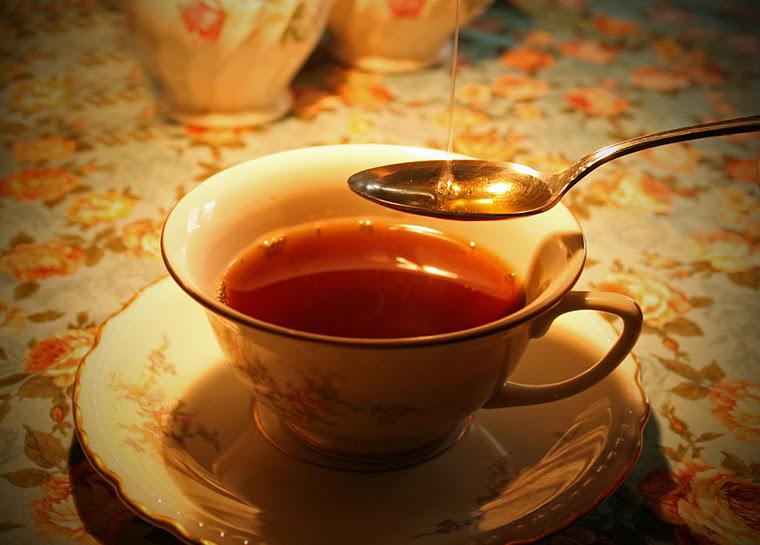 Чай из имбирного сиропа
