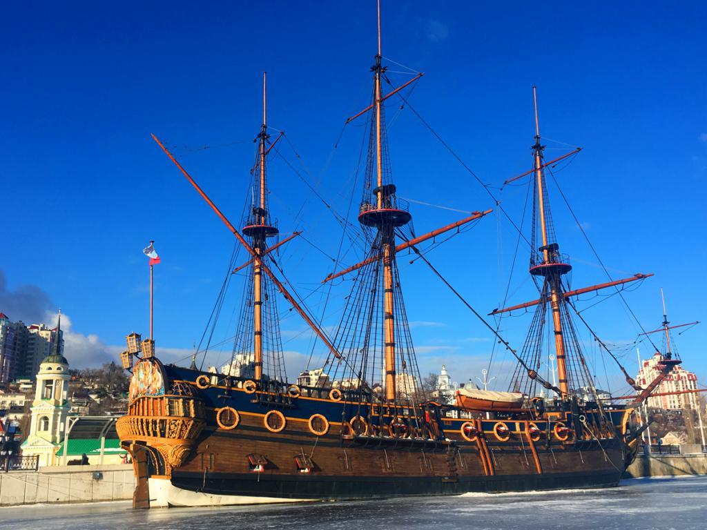 корабль «Гото Предестинация» в воронеже