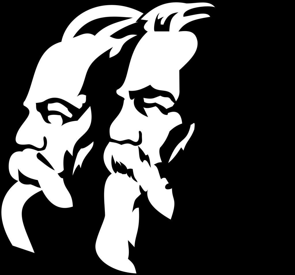 Маркс, Энгельс