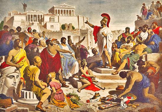 Оратор в Древней Греции