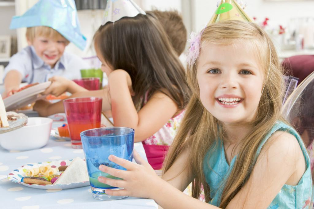 Детские виды банкетов и празднования
