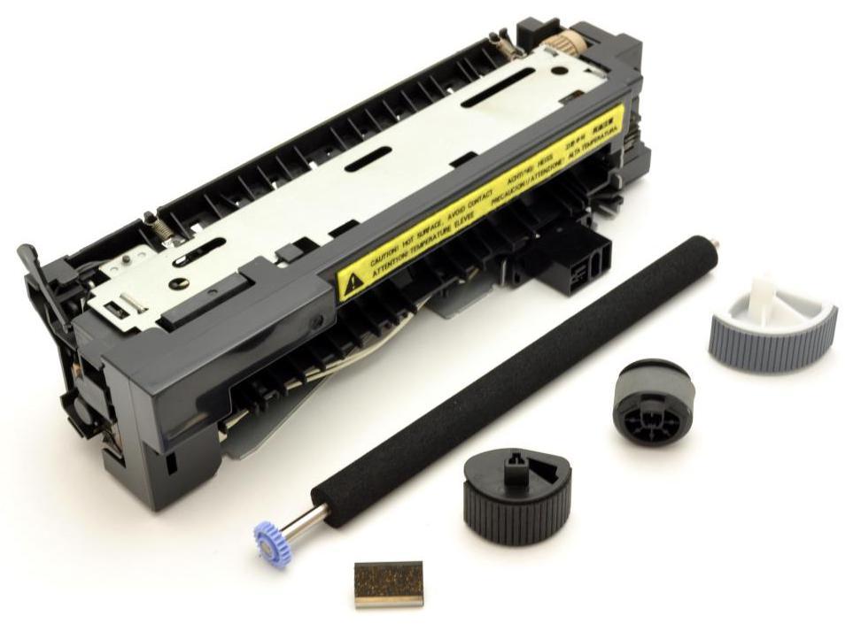 Разобранный картридж лазерного принтера