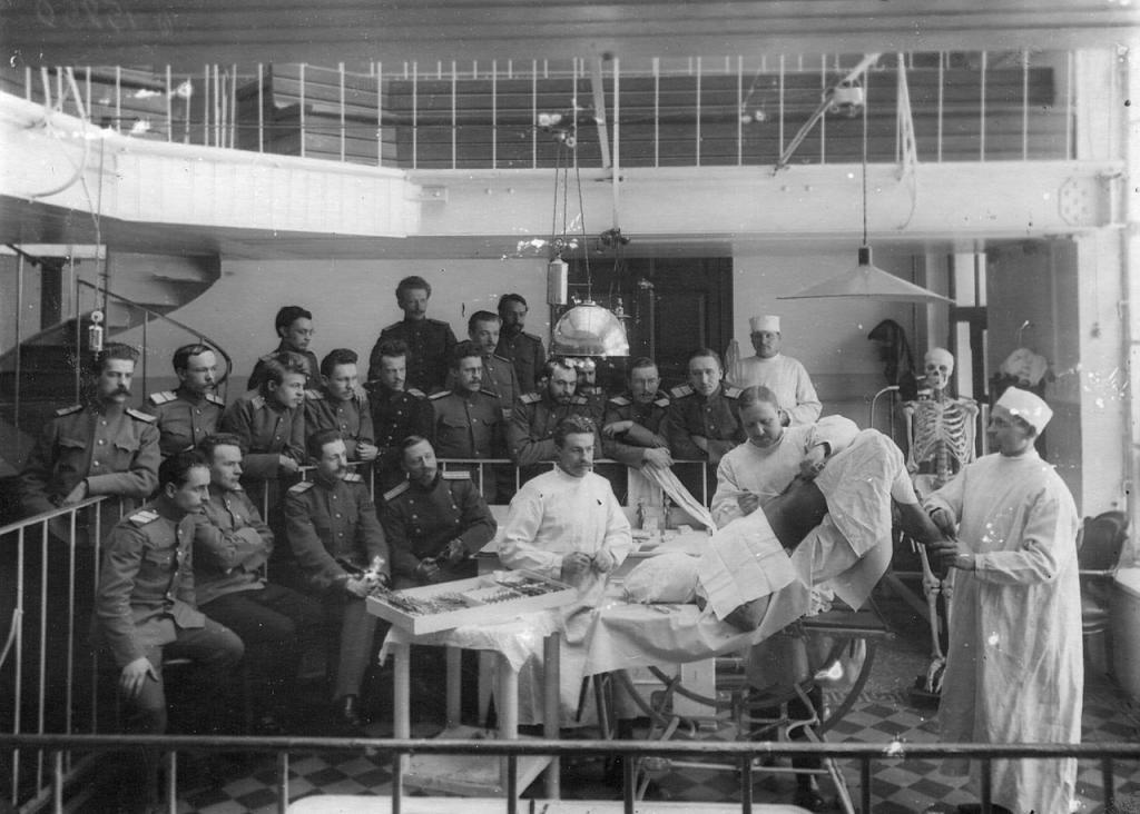 Занятия в Медико-хирургической академии