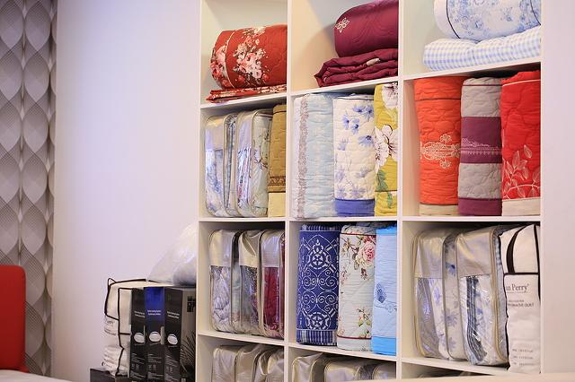 постельное белье в магазине