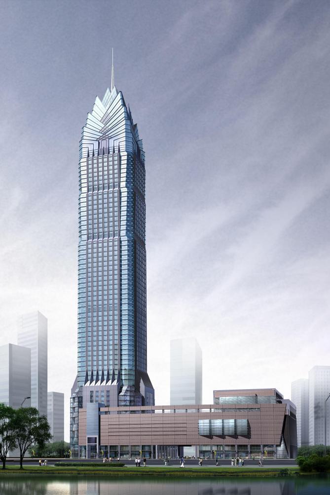 Здание Международного финансового центра
