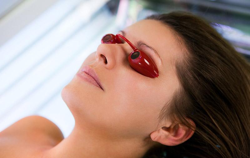 Очки для загар в солярии
