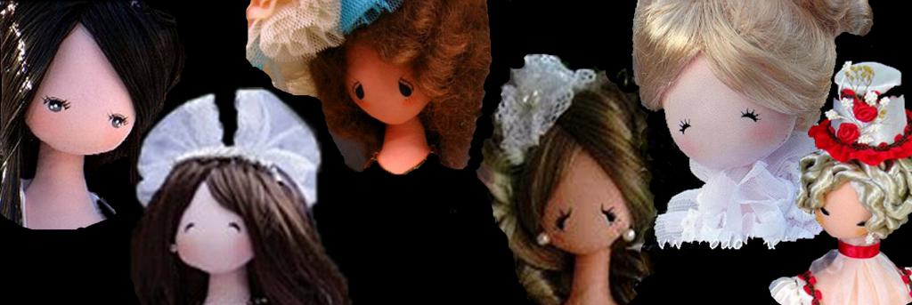 Головы кукол тряпиенсов