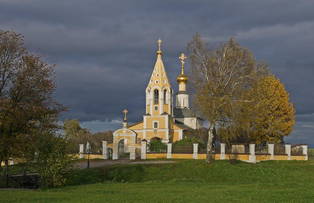 Церковь конаково