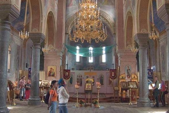 Никольский монастырь. Церковь Иоанна Златоуста.