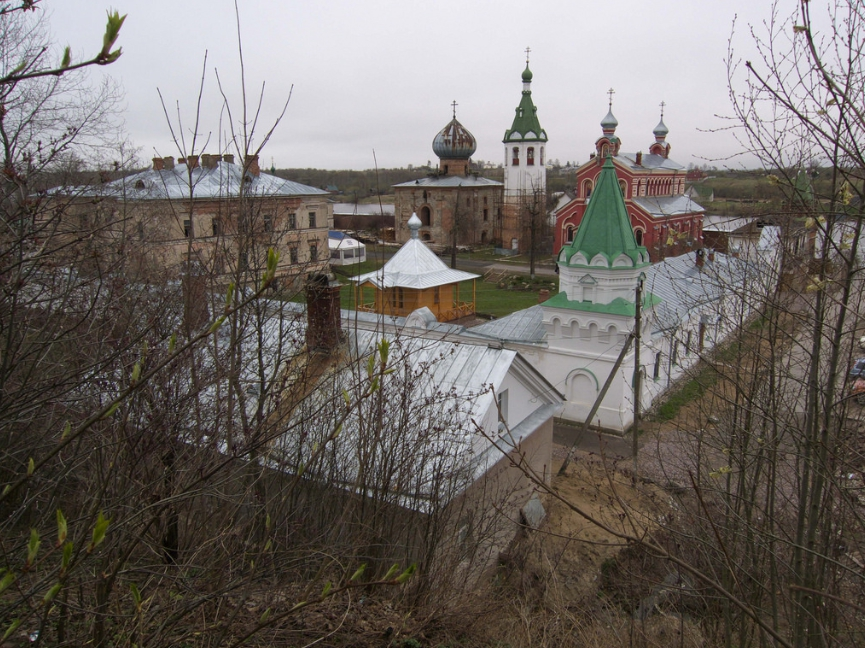Старая Ладога. Никольский монастырь.