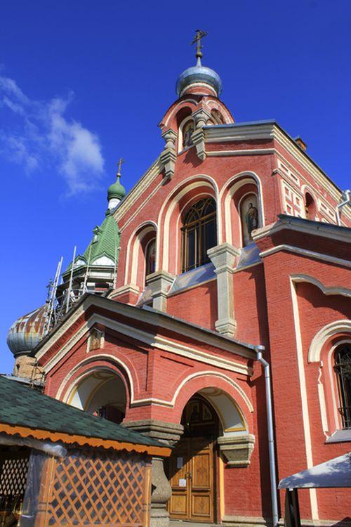 Никольский монастырь. Церковь Иоанна Златоуста
