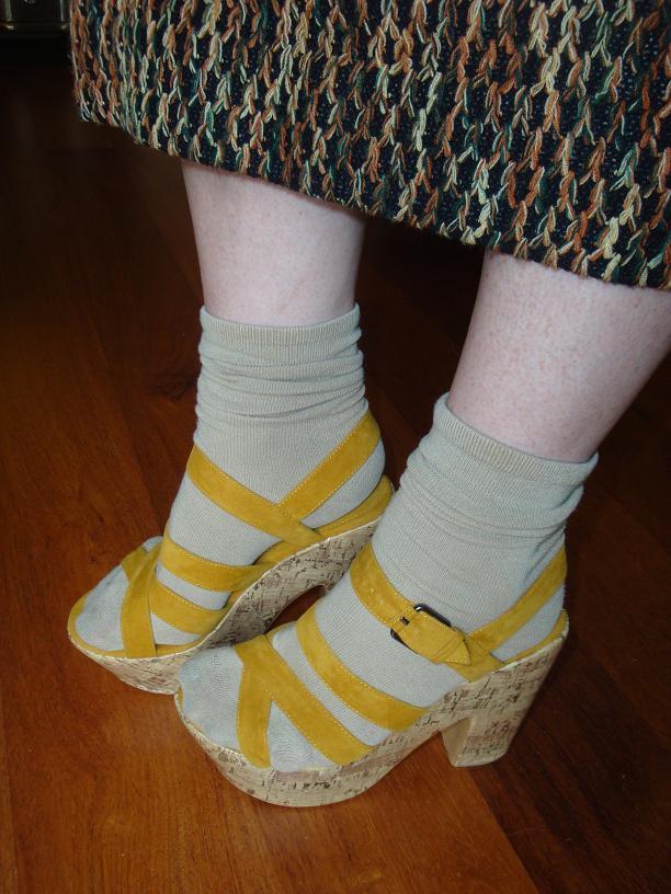 туфли лодочки с открытым носком