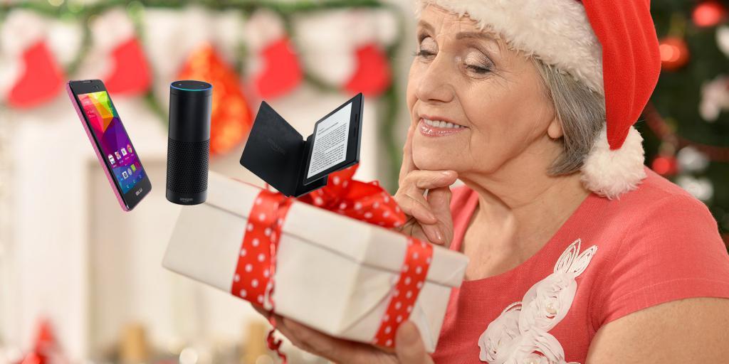 Что подарить пожилому человеку
