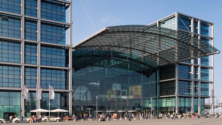 Берлин Центральный вокзал