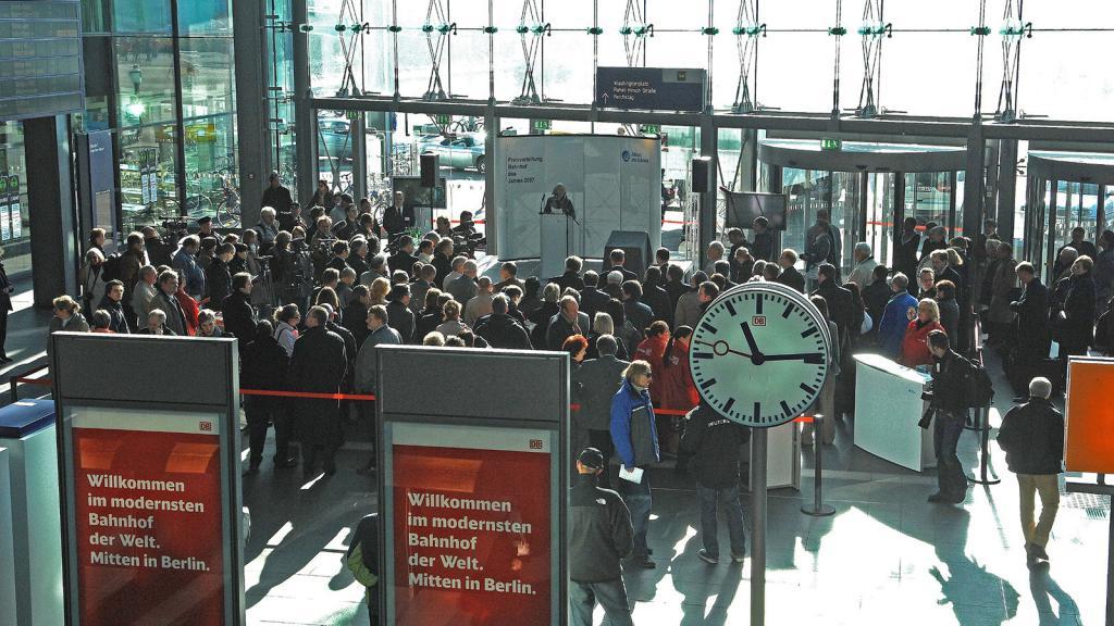 Берлин вокзал