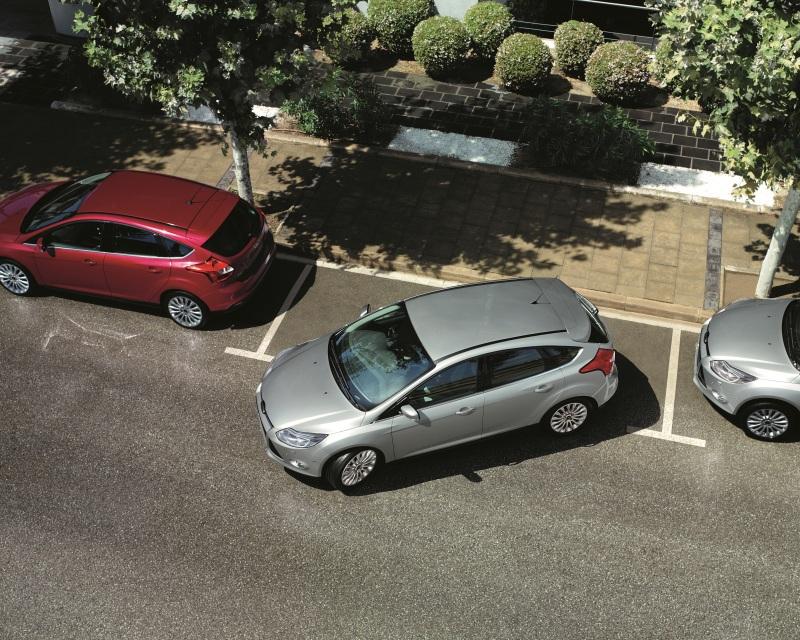 как парковаться задом между машинами