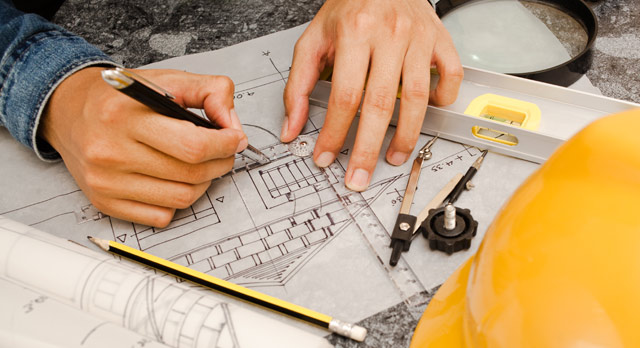 Составление плана дома