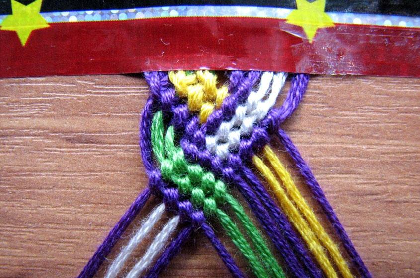Плетение феньки