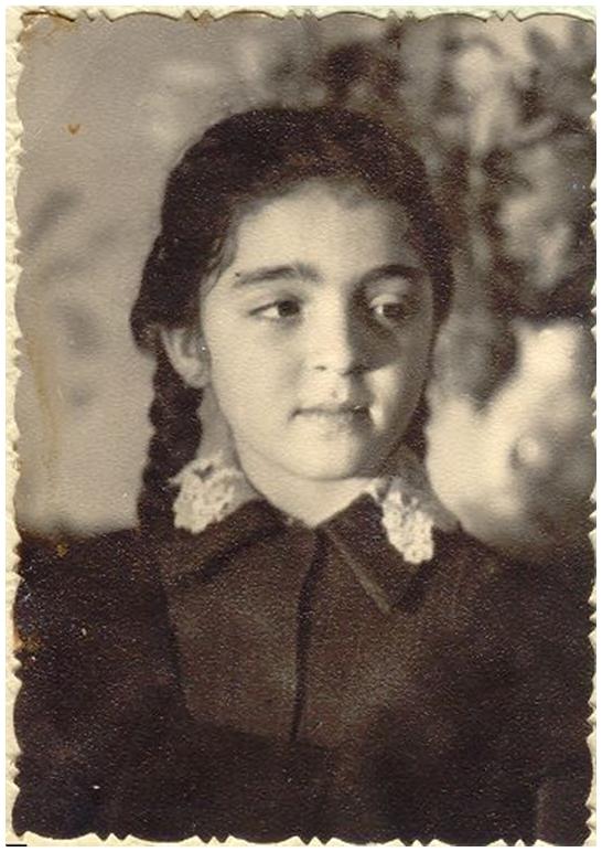 Лариса Миллер в детстве