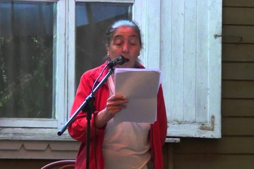 Выступление Ларисы Миллер в 2015 году