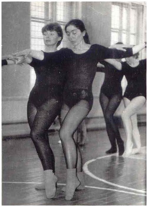 Лариса Миллер - преподаватель женской гимнастики