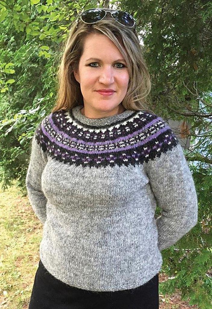свитер лопапейса схемы