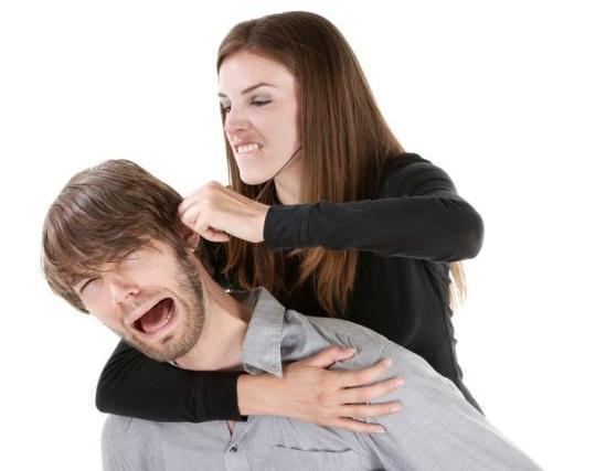 Жена воспитывает мужа