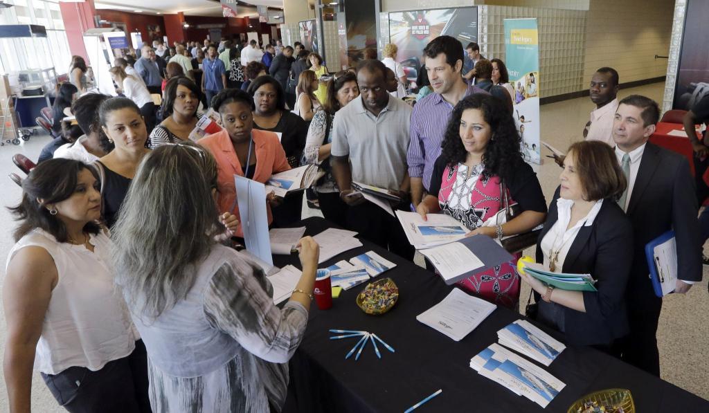 Данные по безработице в США