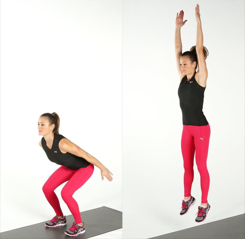 упражнение прыжки