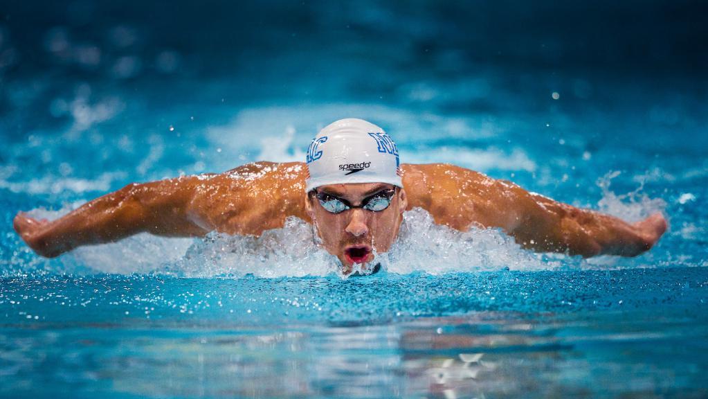 Пловец в очках